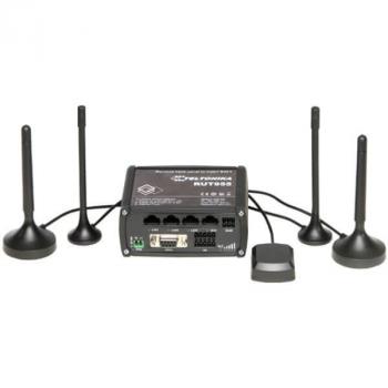 Промышленный Wi-Fi/4G маршрутизатор Teltonika RUT955 (в комплекте DIN-рейка)