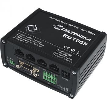 Промышленный Wi-Fi/4G маршрутизатор Teltonika RUT955 (стандартный комплект)