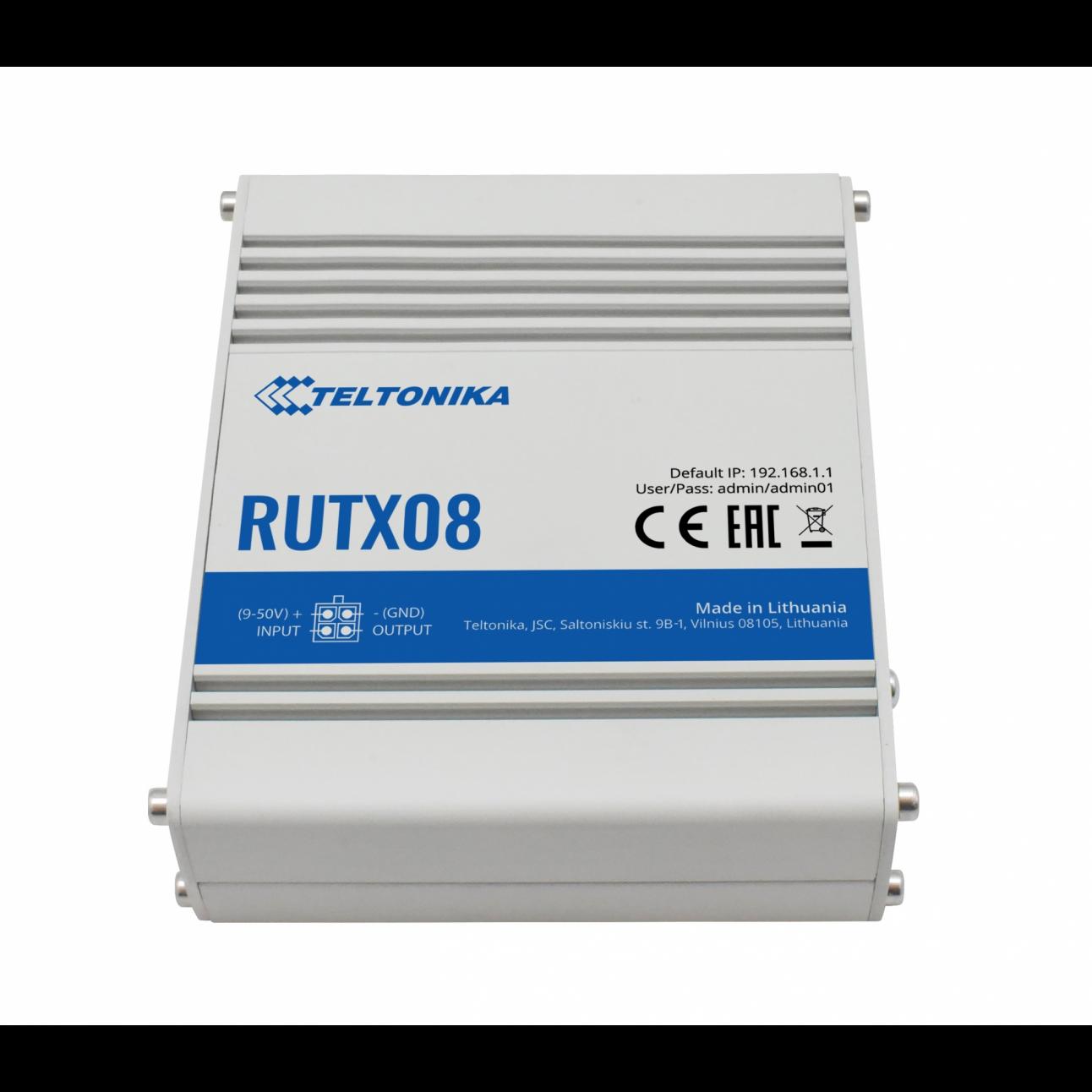 Промышленный маршрутизатор Teltonika RUTX08