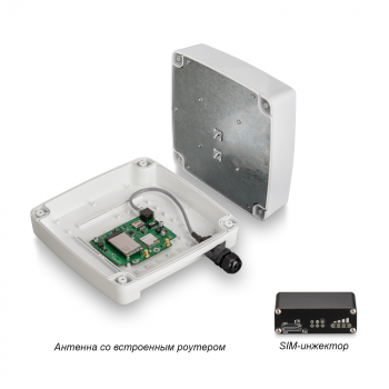 Роутер Rt-Ubx RSIM DS eQ-EP с m-PCI модемом LTE cat.6 Quectel EP06-E, с поддержкой SIM-инжектора