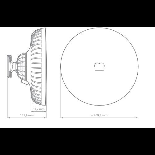 Антеннобокс RF Elements StationBox XL CARRIER CLASS 5 GHz, 19dBi