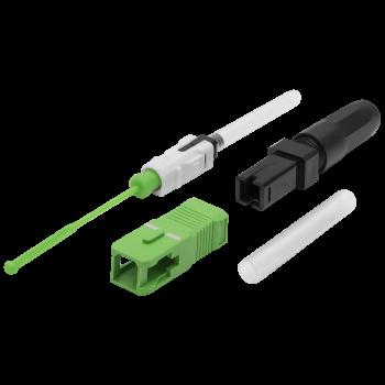 "Разъем оптический FiberFox ""Splice-On Connector"" SC/APC для кабеля 2,0 х 3.0"