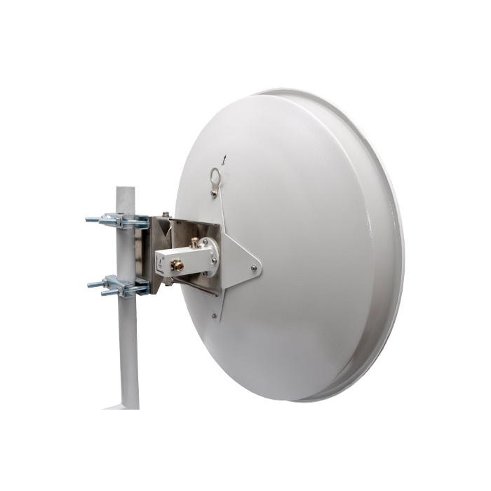 Антенна параболическая Cyberbajt, 5.4 - 5.9 ГГц, 28dBi, двухполяризационная