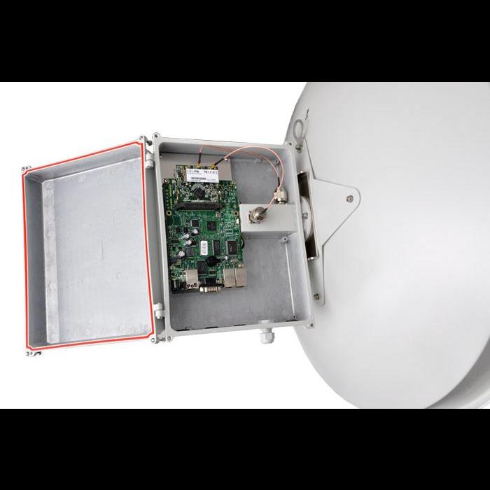 Антенна параболическая Cyberbajt, 4.9 - 6.2 ГГц, 28 dBi, двухполяризационная