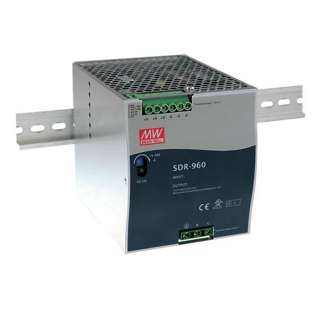 SDR-960-24 Блок питания на DIN-рейку, 24В, 40А, 960Вт Mean Well