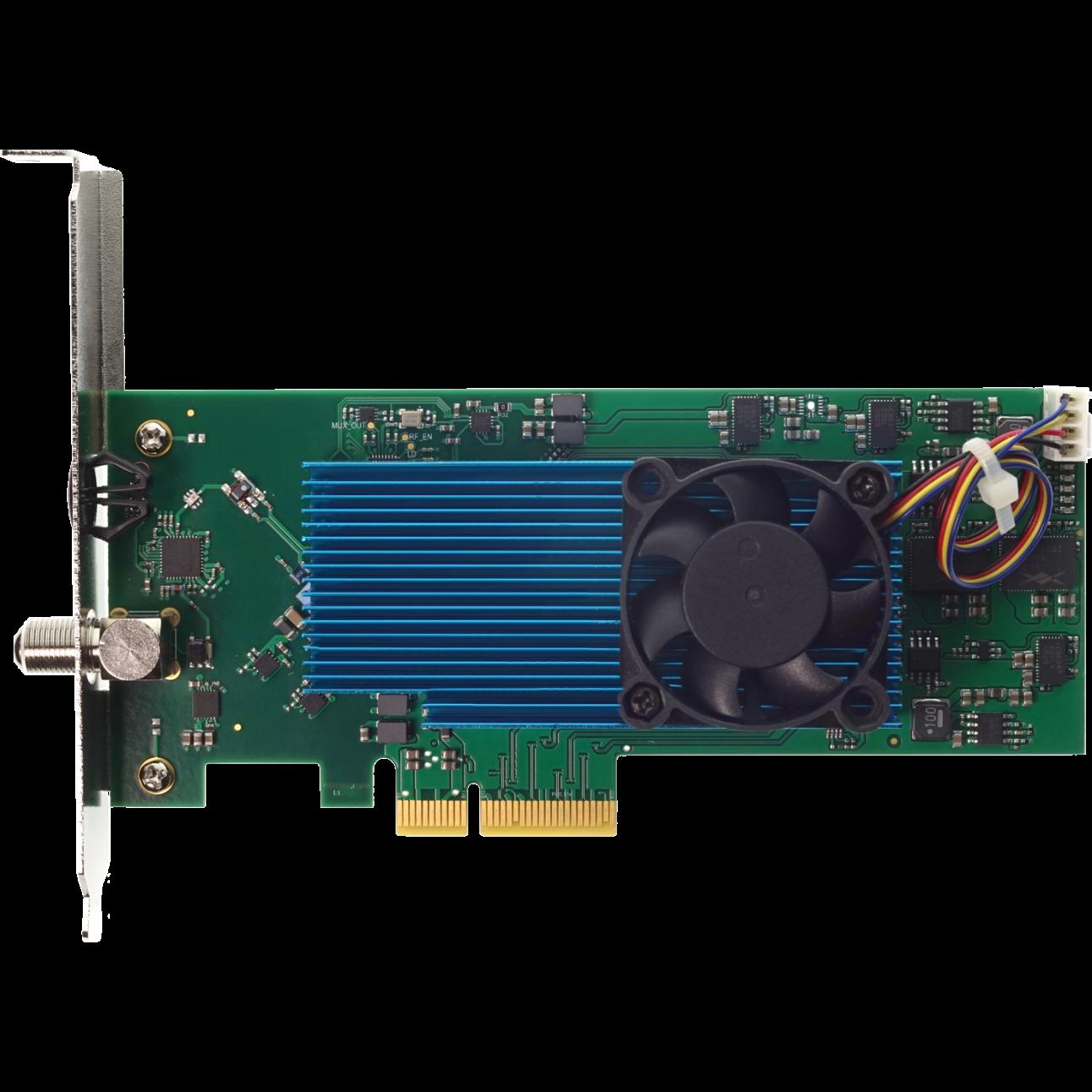 Карта аналогового модулятора на 16 каналов PCIe X4 (used)