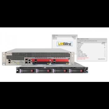 Интегрированный комплект предоставления сервисных услуг для 10000 абонентов: Ericsson SE100 + LanBilling