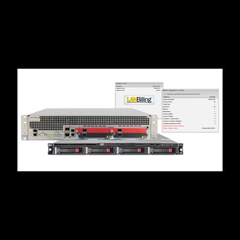 Интегрированный комплект предоставления сервисных услуг для 4000 абонентов: Ericsson SE100 + LanBilling