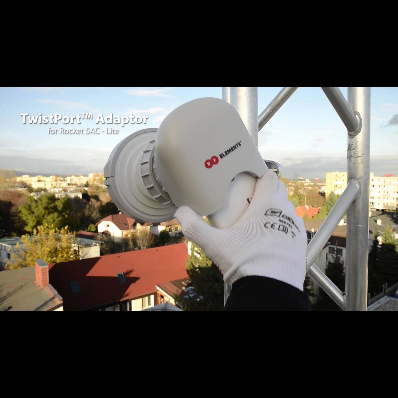 Симметричная рупорная антенна RF elements Symmetrical Horn Antenna 5GHz, 16dBi, 40°