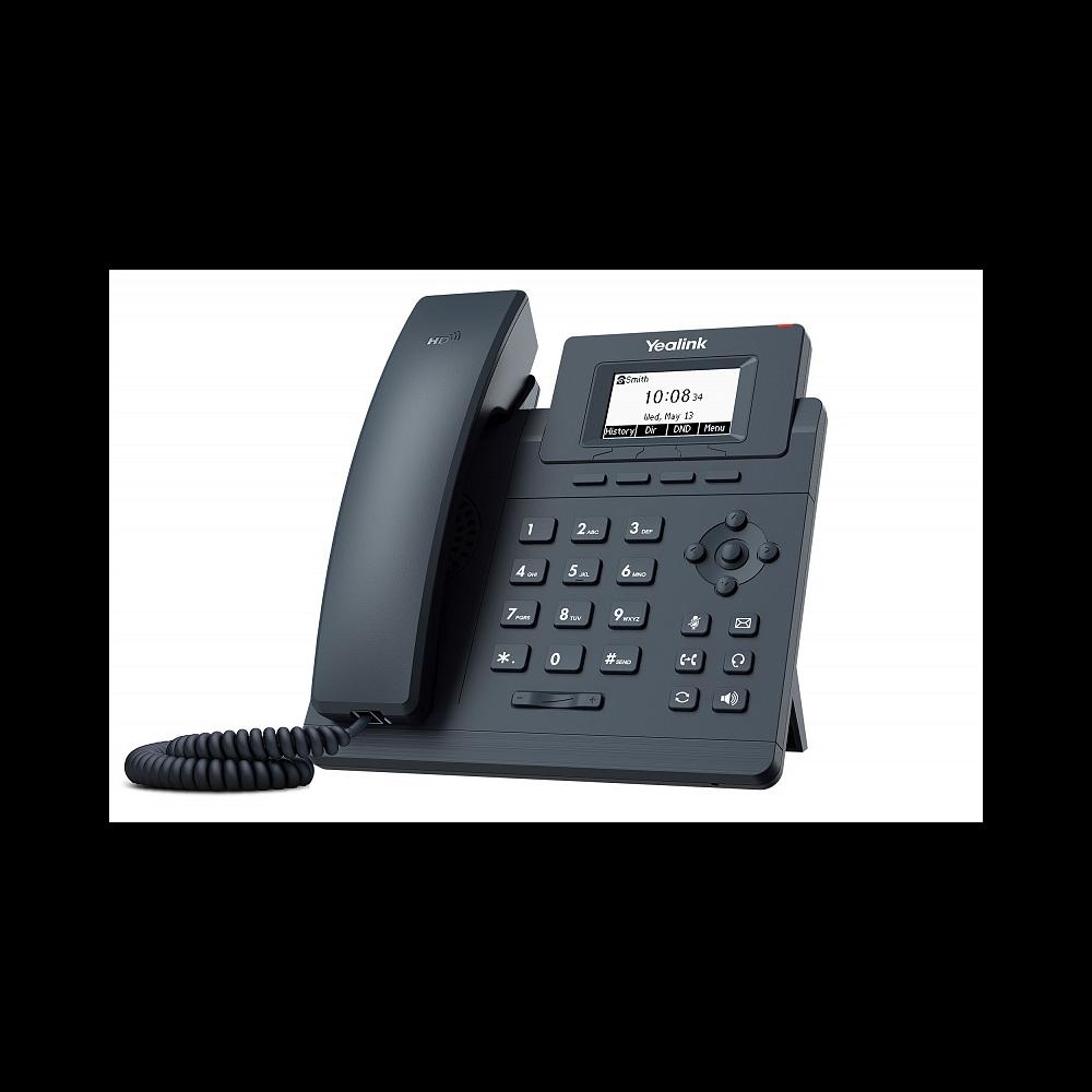 IP-телефон Yealink SIP-T30, 1 аккаунт, БП