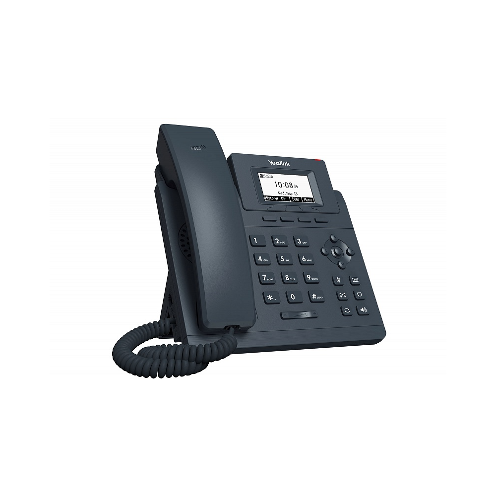 IP-телефон Yealink SIP-T30P, 1 аккаунт, PoE
