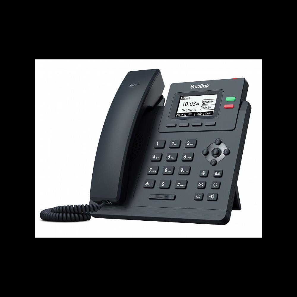IP-телефон Yealink SIP-T31, 2 аккаунта, PoE