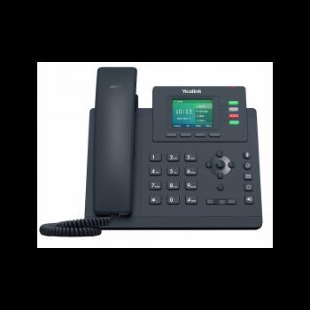 IP-телефон Yealink SIP-T33G, цветной экран, 4 аккаунта, GibE, PoE