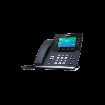 IP-телефон  Yealink SIP-T54W, 16 аккаунтов, Bluetooth,WiFi, USB, GigE, цветной экран, без БП