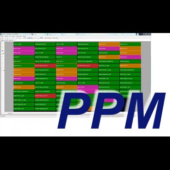 MultiScreen инструментальный контроль звука PPM (1 канал)