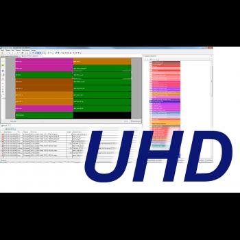 MultiScreen инструментальный контроль ТВ каналов в в HEVC в том числе UHD/4K разрешения (1 канал)