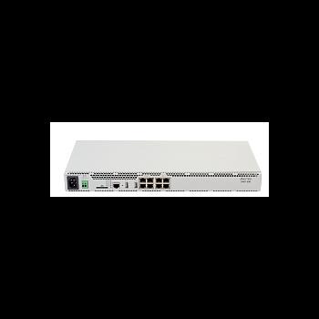 IP АТС SMG-500: 250 SIP абонентов с опциональным расширением до 500, 4 порта 10/100/1000Base-T (RJ-45), 2 порта USB 2.0, до 4 портов Е1