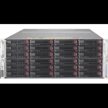 Сервер Supermicro 6047R-E1R72L2K(X9DRD-7LN4F), 2 процессора Intel Xeon 8C E5-2650v2 2.60GHz, 64GB DRAM