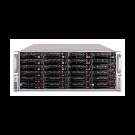 Сервер Supermicro 847E16-R1K28LPB(X9DRI-LN4F+), 2 процессора Intel 8C E5-2660 2.20GHz, 64GB DRAM