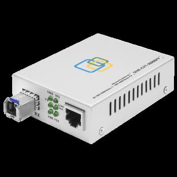 Медиаконвертер SNR-1000A-WDM-20