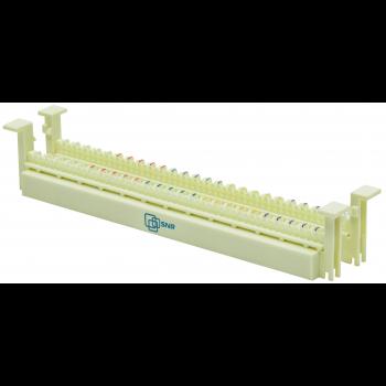 Кросс-панель тип 110 до 50 пар, настенный монтаж, без ног