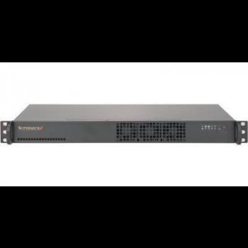 Мини-сервер Supermicro 5019S-L, 1 процессор Intel Xeon 4C E3-1220 V6 3.4GHz, 16GB DRAM