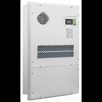 Кондиционер для установки в уличный шкаф, холодопроизводительность1000Вт, со встроенным электрическим калорифером, 220В переменного тока