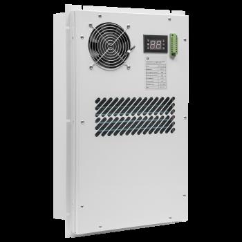 Кондиционер для установки в уличный шкаф, холодопроизводительность 500Вт, со встроенным электрическим калорифером, 220В переменного тока