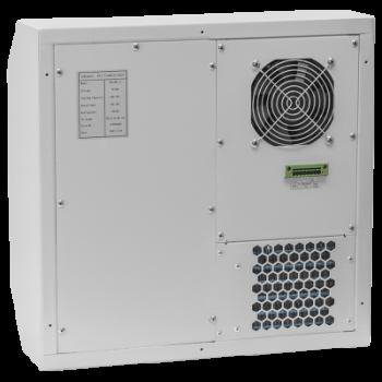 Кондиционер для установки в уличный шкаф, холодопроизводительность 500Вт, со встроенным электрическим калорифером, -48В постоянного тока