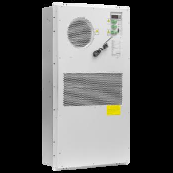 Кондиционер для установки в уличный шкаф, холодопроизводительность 800Вт, со встроенным электрическим калорифером, 220В переменного тока