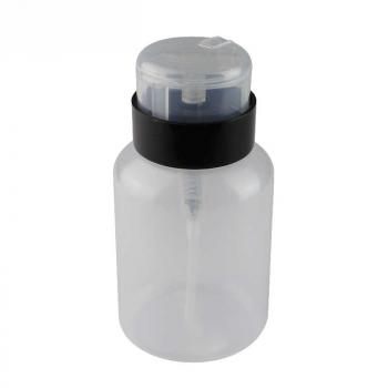 Дозатор для спирта пластмассовый 200 мл с помпой