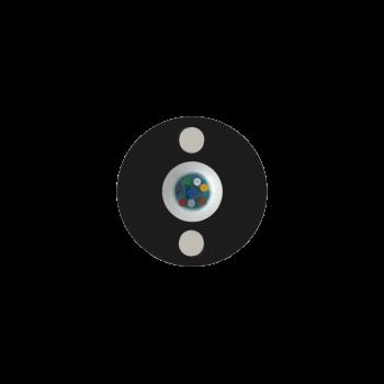 Кабель оптический самонесущий диэлектрический, 2 волокна, 1.0кН, 5.0мм, катушка 1км.