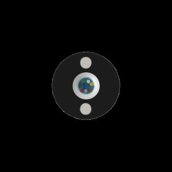 Кабель оптический самонесущий диэлектрический, 2 волокна, 1.0кН, 5.0мм, катушка 2км.