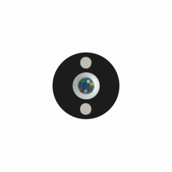 Кабель оптический самонесущий диэлектрический, 2 волокна, 1.0кН, 5.0мм, катушка 3км.