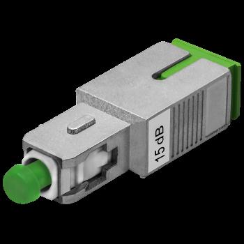 Аттенюатор SNR-ATT-MF-SC/APC-15dB (Male-Female)