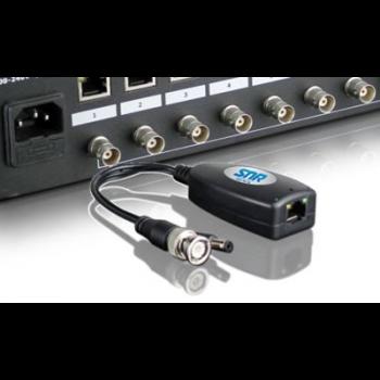 Передатчик видеосигнала и стабилизированного питания  по витой паре SNR-B-P1VP36 пассивный