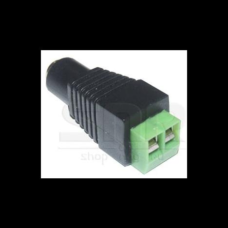 Адаптер питания DC female - клеммник SNR-B-SDCPF