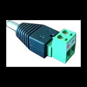 Адаптер питания DC male - клеммник SNR-B-SDCPM