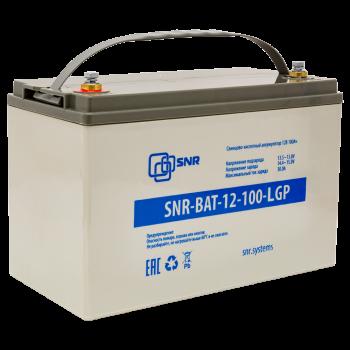 Свинцово-кислотный аккумулятор 12В 100Ач (SNR-BAT-12-100-LGP)