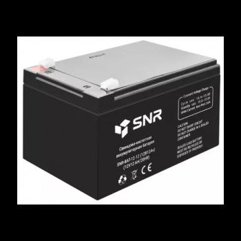 Свинцово-кислотный аккумулятор 12 В 12 Ач (SNR-BAT-12-12-GP)