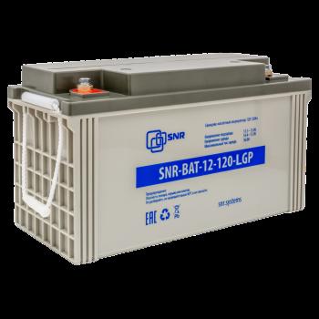 Свинцово-кислотный аккумулятор 12В 120Ач (SNR-BAT-12-120-LGP)