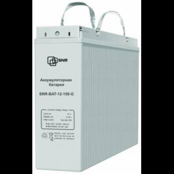 Аккумуляторная батарея SNR-BAT-12-150-G для ИБП (отсутствует транспортировочная ручка, сломана крышка, закрывающая клеммы, емкость 95%)