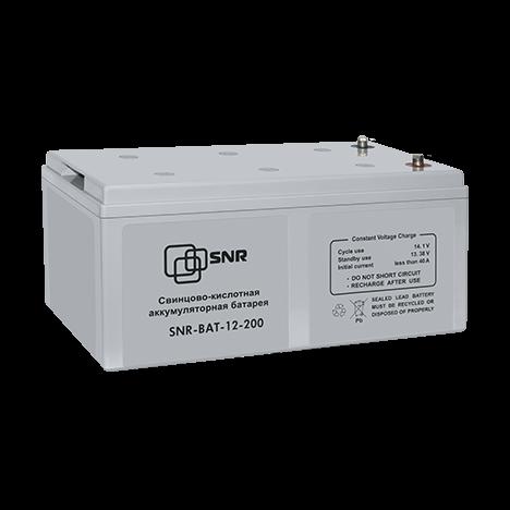 Батарея аккумуляторная SNR-BAT-12-200