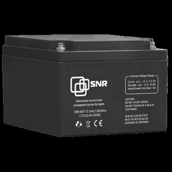 Свинцово-кислотный аккумулятор 12 В 24 Ач (SNR-BAT-12-24-GP)