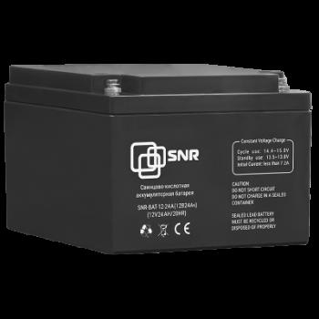 Батарея аккумуляторная SNR-BAT-12-24A