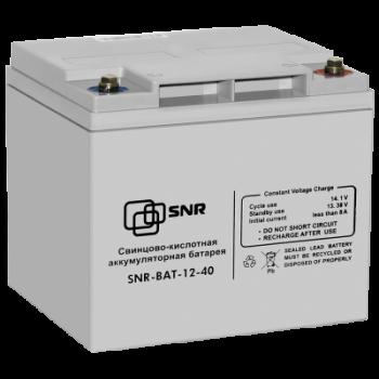 Батарея аккумуляторная SNR-BAT-12-40