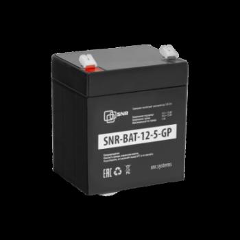 Свинцово-кислотный аккумулятор 12 В 5 Ач (SNR-BAT-12-5-GP) уценка имеют потертости и метки маркером