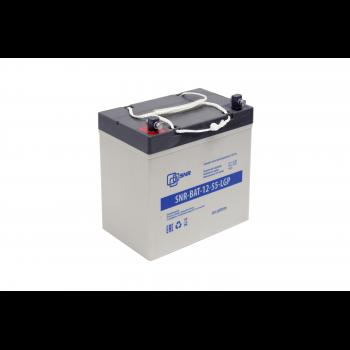 Свинцово-кислотный аккумулятор 12В 55Ач (SNR-BAT-12-55-LGP) (уценка )