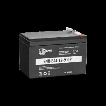 Свинцово-кислотный аккумулятор 12 В 9 Ач (SNR-BAT-12-9-GP)