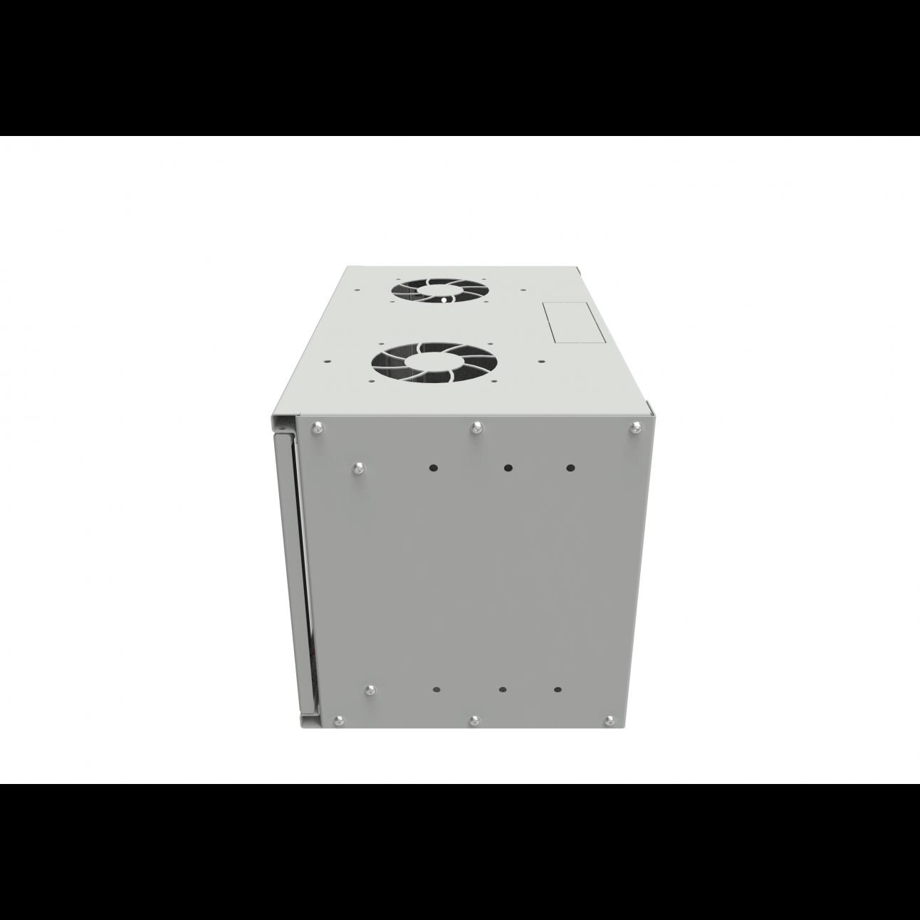 Шкаф телекоммуникационный настенный 6U, 315х520х300 мм (дверь металлическая)